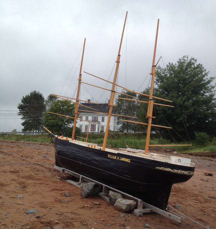 Replica of the William D. Lawrence