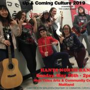 Hants North Band - Up & Coming Culture poster