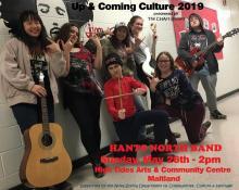 Hants North Band - Up & Coming Culture poster